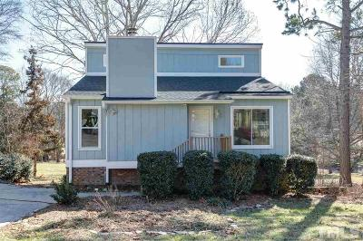 Cary Single Family Home Contingent: 307 Glen Bonnie Lane