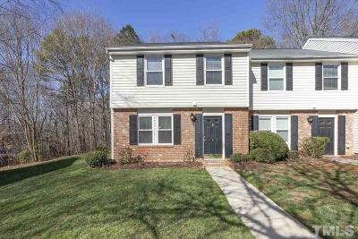 Cary Townhouse Contingent: 146 Luxon Place