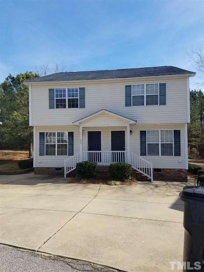 Johnston County Rental For Rent: 175 Park Place Drive
