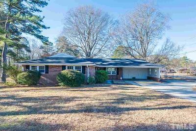 Raleigh NC Single Family Home For Sale: $210,000