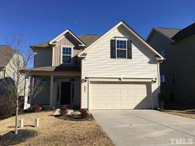 Johnston County Rental For Rent: 48 Outwater Ridge Drive