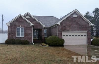 Wake County Single Family Home Pending: 1008 Fieldgrass Place