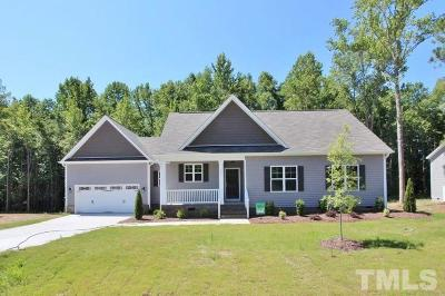 Zebulon Single Family Home For Sale: 92 Soaring Eagle Trail