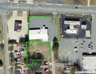 Chatham County Commercial For Sale: 210 E Eleventh Street