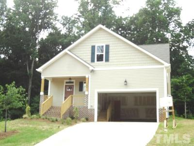 Youngsville Single Family Home For Sale: 190 Alcock Lane