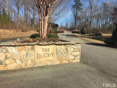 Mebane Residential Lots & Land For Sale: 5215 Osprey Drive