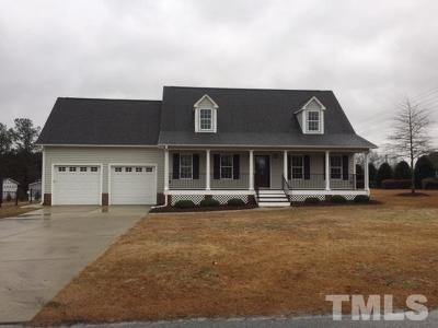 Willow Spring(s) Single Family Home For Sale: 18 Gardner Lake Drive