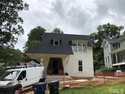 Raleigh Single Family Home Pending: 2709 N Mayview Road