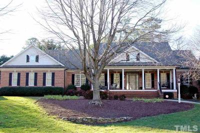Raleigh Single Family Home Pending: 517 Wild Rose Court