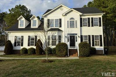Knightdale Single Family Home Pending: 1009 Edenburghs Keep Drive