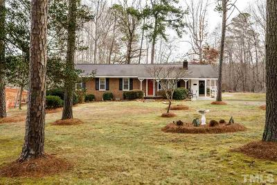 Holly Springs Single Family Home For Sale: 5321 Sunset Lake Road