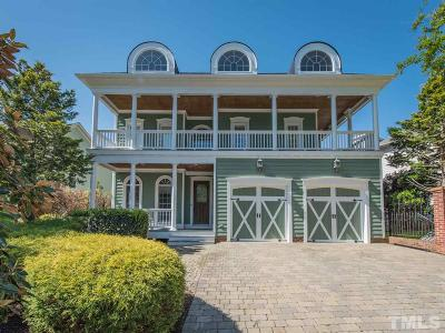 Wakefield Single Family Home For Sale: 2708 Charleston Oaks Drive