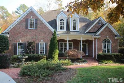 Wake Forest Single Family Home Contingent: 7832 Kingsbrook Court