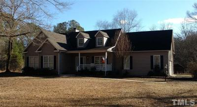 Pittsboro Single Family Home For Sale: 7395 Old Graham Road