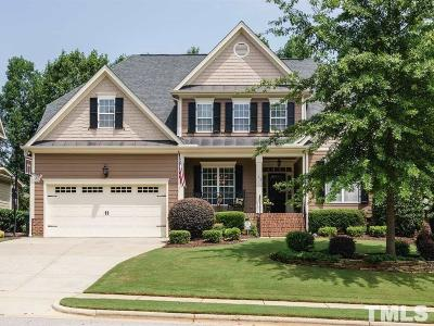 Holly Springs Single Family Home Contingent: 109 Eden Glen Drive