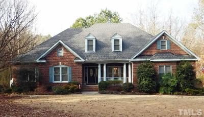 Knightdale Single Family Home Contingent: 4000 S Smithfield Road