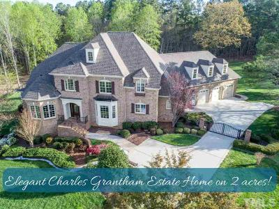 Wake Forest Single Family Home For Sale: 1809 Shady Hill Lane