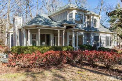 Carrboro Single Family Home Contingent: 106 Quail Roost Drive