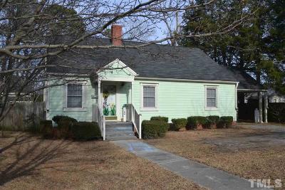 Johnston County Single Family Home For Sale: 402 W Elizabeth Street