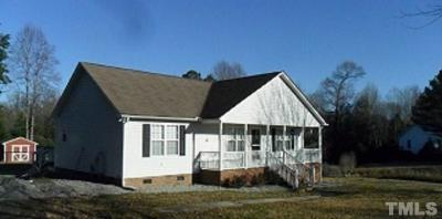 Johnston County Rental For Rent: 307 S Trace Drive