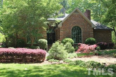 Raleigh Single Family Home For Sale: 1212 Kings Grant Drive