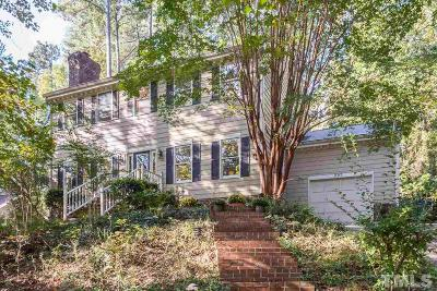 Chapel Hill Single Family Home Contingent: 207 Old Forest Creek Drive