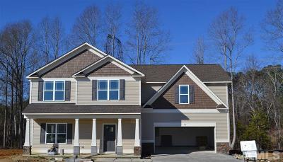 Willow Spring(S) Single Family Home Pending: 124 Terawood Farm Drive