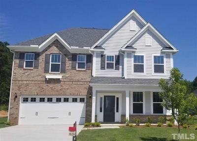 Knightdale Single Family Home For Sale: 5003 Sleepy Falls Run #Lot 28