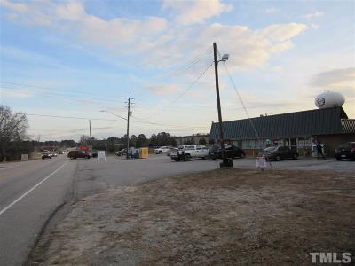 Zebulon Commercial For Sale: 1701 N Arendell Avenue