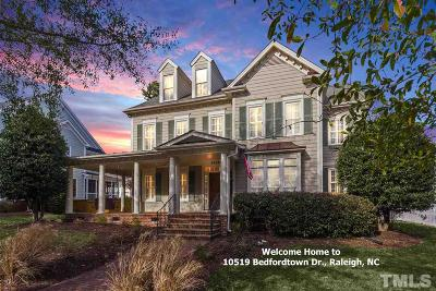 Raleigh Single Family Home Contingent: 10519 Bedfordtown Drive