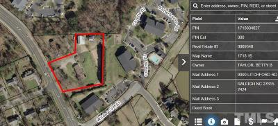 Raleigh Residential Lots & Land For Sale: 9000 Litchford Road