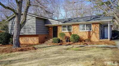 Cary Single Family Home For Sale: 216 Gordon Street