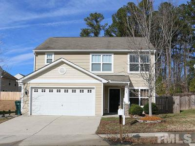 Durham Single Family Home Contingent: 4403 Broomstraw Court