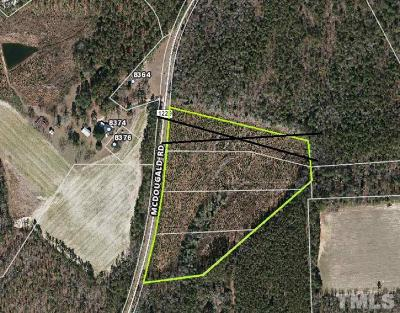 Harnett County Residential Lots & Land For Sale: McDougald Road