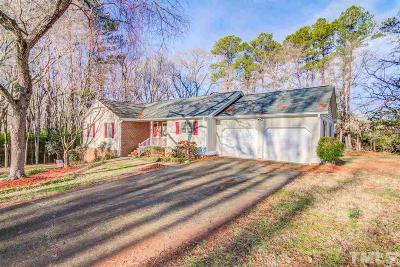 Apex Single Family Home For Sale: 6600 Orchard Knoll Drive