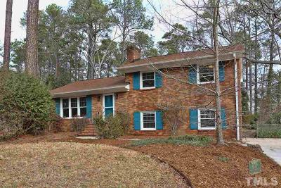 Chapel Hill Single Family Home Contingent: 407 Thornwood Road