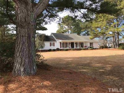 Angier Single Family Home For Sale: 2368 Matthews Mill Pond Road