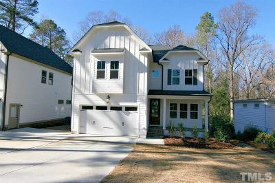 Holly Springs Single Family Home For Sale: 915 Marilyn Drive