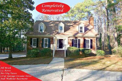 Raleigh Single Family Home For Sale: 14112 Wyndfield Circle