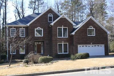 Cary Single Family Home For Sale: 107 Drysdale Court