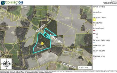 Sampson County Residential Lots & Land For Sale: Zoar Church Road