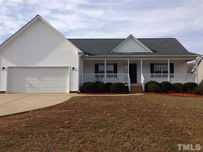 Fuquay Varina Single Family Home Contingent: 1064 S Willhaven Drive