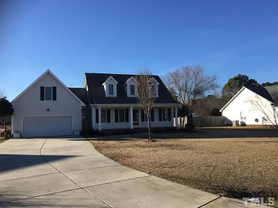 Sampson County Single Family Home Pending: 156 Day Lily Lane