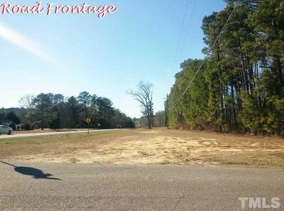 Harnett County Residential Lots & Land For Sale: Hillside Drive
