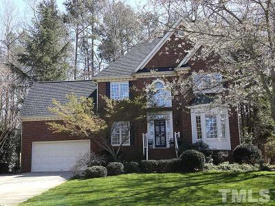 Cary Single Family Home For Sale: 107 Large Oaks
