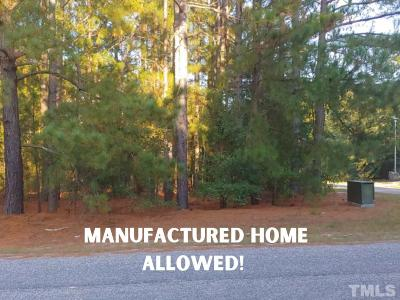 Harnett County Residential Lots & Land For Sale: 274 Pine Needles Drive
