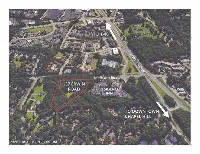 Orange County Residential Lots & Land For Sale: 137 Erwin Road