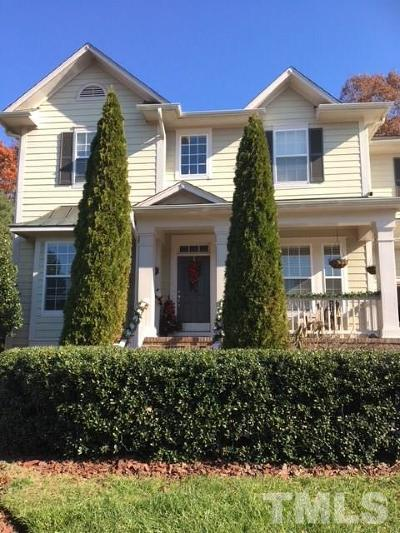 Raleigh  Single Family Home Contingent: 10132 Darling Street