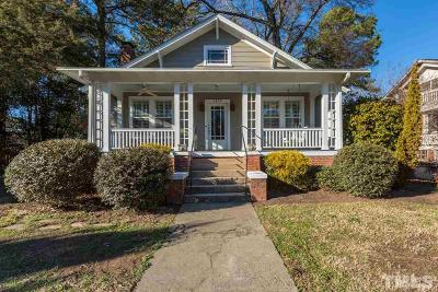 Wake County Single Family Home Contingent: 1905 Alexander Road