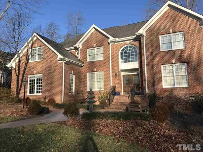 Cary Single Family Home Pending: 105 Trident Court